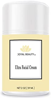 Royal Jelly Ultra Facial Moisturizing Cream by Joyal Beauty, Enriched with Bee Propolis, Honey. Packed with Vitamins A, B, C, D, E, K. Soothe and Nourish Oily, Sensitive & Acne Prone Skin. 2 oz