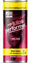 Juice Performer Beet Juice with Pineapple Juice 8.4 Fl. Oz. Can (12 Pack)
