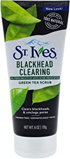 St. Ives Blackhead Clearing Green Tea Face Scrub 6 oz, Pack of 1