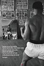 Imaginus Posters Muhammad Ali Reflection Boxing Sports Quote Poster 24 x 36 inches