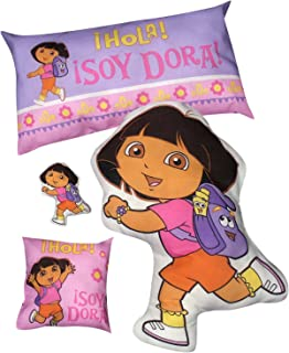 Daisy Kingdom Easy Cut and Sew Stitch 'N Stuff Kit, Dora The Explorer