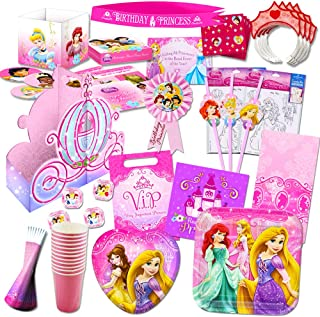 Disney Princess Party Supplies Ultimate Set 150 Pieces Favors Birthday