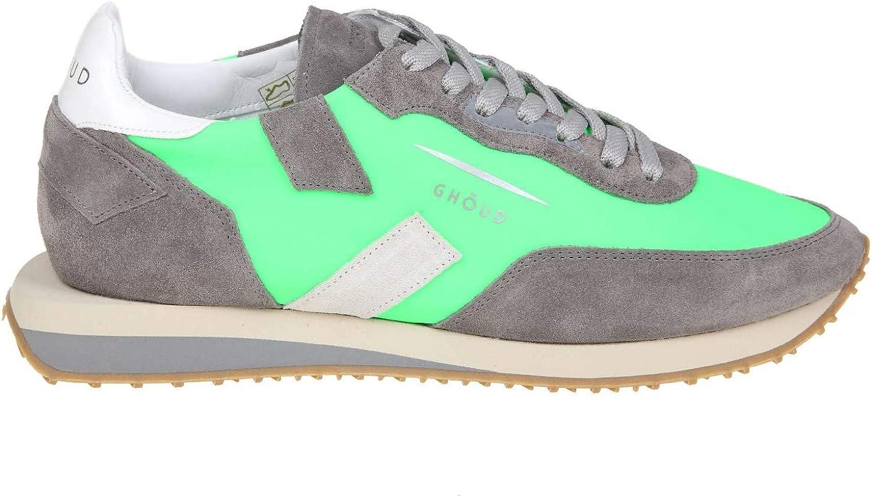 GHOUD GHOUD GHOUD RSLMRL22 Men's Green Fabric Sneakers