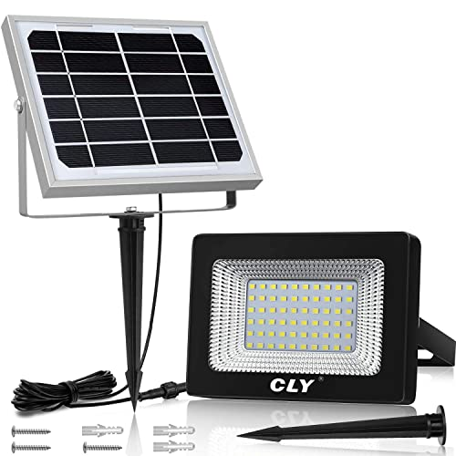 60 LED Solar Security Light Flood Light /& Solar Panel with Fittings No Wiring