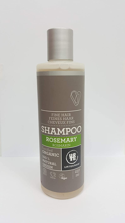 ウルテクラムローズマリーシャンプーオーガニック、細い髪、250 ml