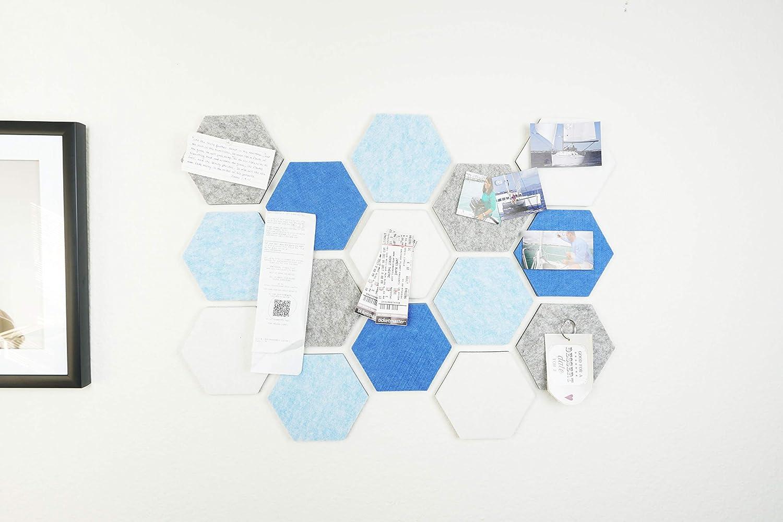Cork Board Memo of sale Hexagon Felt x 18