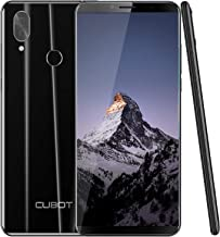 CUBOT X19 64GB 5.93-Inch FHD+ 4G Smartphone Unlocked with 4GB RAM, Android 9.0, Dual Sim, 4000mAh Battery, 16MP Camera, Fingerprint Sensor,Face ID-Black
