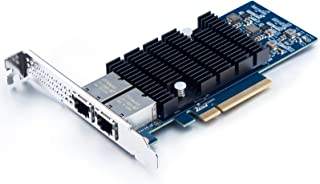10Gtek for X540-T2, 10GbE Converged Network Adapter(CNA), Copper Dual RJ45 Port(Amount to Intel X540-T2)