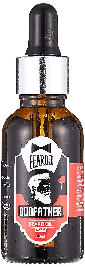 有料スタック司法Beardo Godfather Lite Beard And Moustache Oil - 30 ml With Natural Ingredients - Almond Oil, Aloe Vera Extract, Castor Oil, Olive Oil