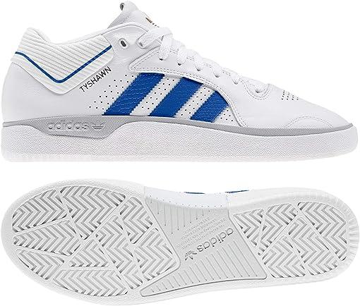 Footwear White/Blue/Gold Metallic