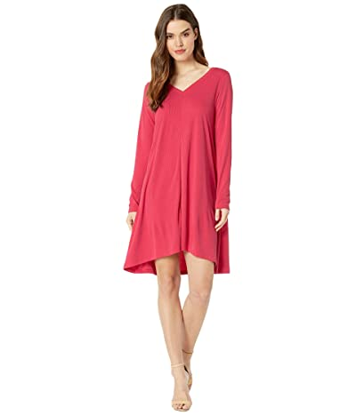 Fresh Produce Jetsetter Dress in Stretchy Modal Rib (Vibrant Poppy) Women