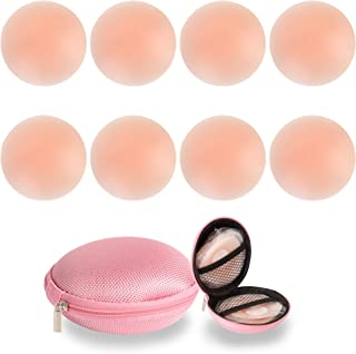 4 Pairs Nipple Covers Pasties for Women Reusable Adhesive...
