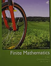 Finite Mathematics, MyMathLab, Student Solutions Manual, and Graphing Calculator and Excel Spreadsheet Manual (10th Edition)