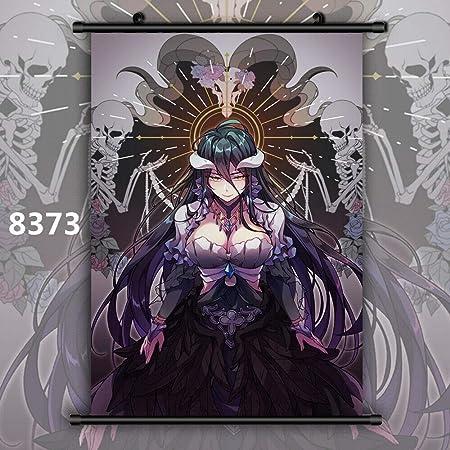 Overlord HD Print Anime Wall Poster Scroll Room Decor