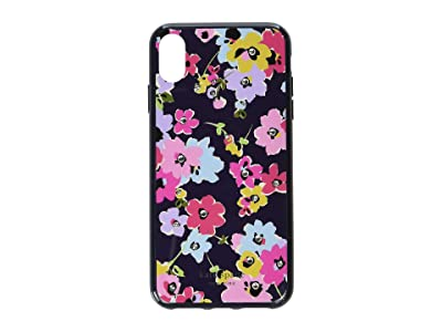 Kate Spade New York Jeweled Wildflower Phone Case for iPhone XS Max (Navy Multi) Cell Phone Case
