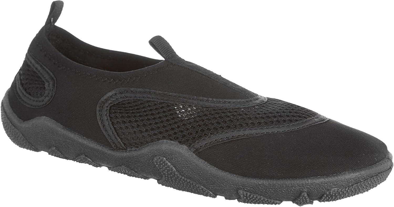 Capelli New York Ladies Solid Neoprene and Mesh Aqua shoes