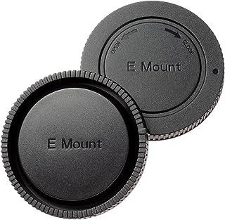 ETSUMI ソニーEマウント対応ボディ&リアキャップセット ブラック E-6345
