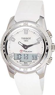 ساعة تيسوت تي تاتش 2 تيتانيوم T047.220.47.111.00 للنساء سيليكون