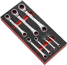 FACOM Modm.65SPL7 15 graden Celsius schuine offset-ring ratel spline set, 45 mm hoogte