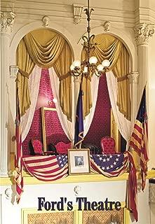 Presidential box in Ford's Theatre, Washington, DC, Assassination of Abraham Lincoln, Souvenir, Travel, Locker, Magnet 2 x 3 inch Fridge Magnet