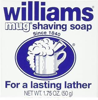 Williams Mug Shaving Soap, 12 Count
