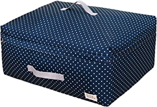 Vêtements Sac de rangement Sacs de rangement sous les zips, grands sacs de rangement de vêtements avec poignées renforcée...