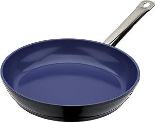 GSW 160636 Gastro - Sartén (Revestimiento cerámico, 32 cm), Color Azul Cobalto