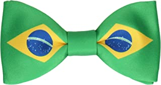 Mrs Bow Tie, Bow Tie with Flags, Pre-Tied Bow Tie