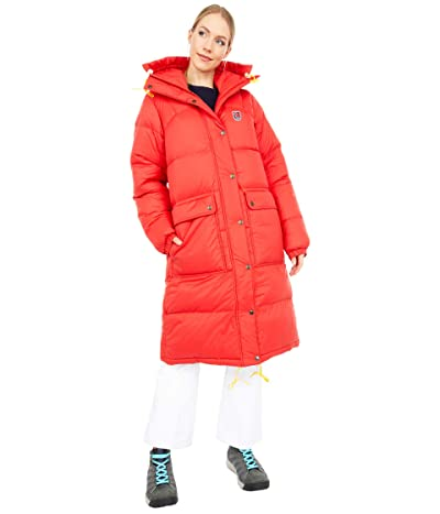 Fjallraven Expedition Long Down Parka (True Red) Women