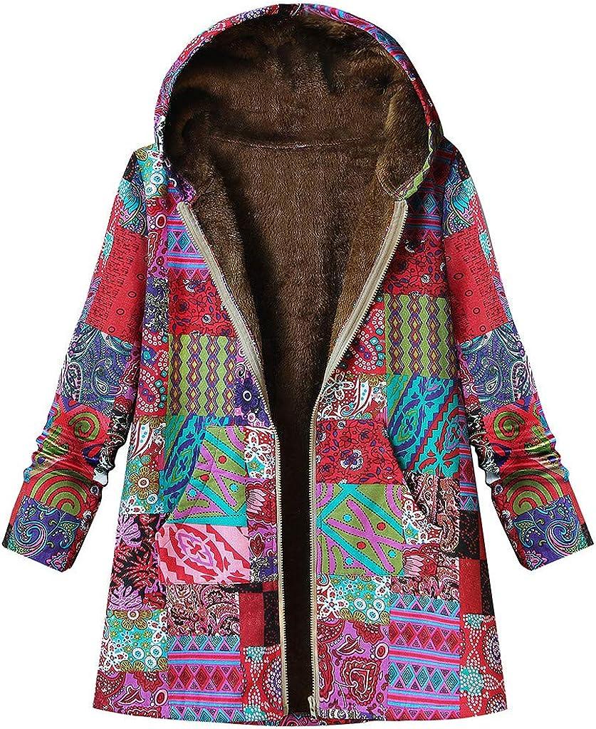 FEISI22 Women's Long Sleeve Cardigan Lapel Open Front Sweater Khaki Dolman Sleeve Faux Fur Cardigan Coat for Winter
