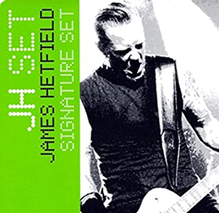 EMG James Hetfield JH Humbucker Pickup Set Black Chrome 3707.00 w/Bonus LuluRock Pick (x1) 654330214271