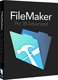FileMaker Pro 18 Advanced Education ESD [PC/Mac Online Code]