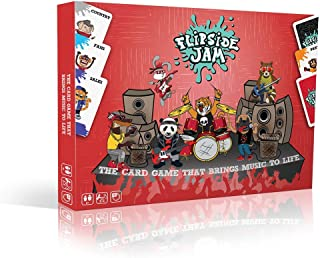 Flipside Jam – The Rocking Family Card Game – Just Pick Pass Flip – It'S That Easy (Lightning Quick, Fun & Educational Board Game for Kids, Teens, Adults, Parents - Boys & Girls Ages 8 & Up)