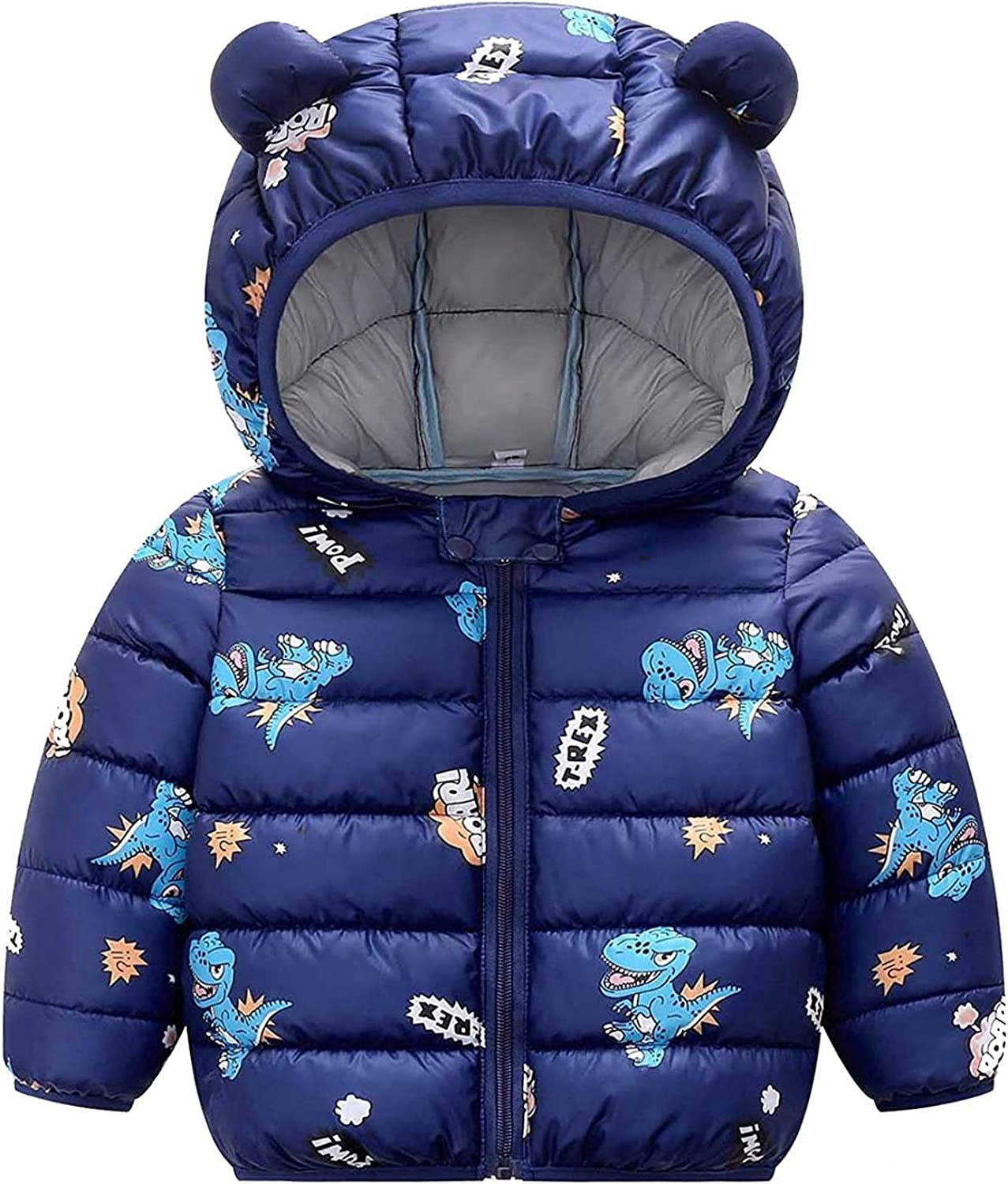 Toddler Industry No. 1 Puffer Jackets Baby Super popular specialty store Boy Co Cartoon Windproof Winter Girl
