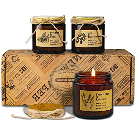 Hand-Poured Pure Soy Wax Candles-10oz jar Choose a scent 18 Scents available