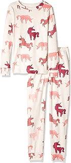 Gymboree Girls' Big 2-Piece Tight Fit Sleeve Long Bottoms Pajama Set