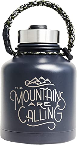 Mountains Are Calling 32 oz Stainless Steel Growler