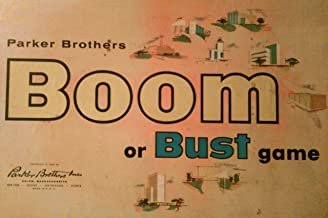 BOOM OR BUST 1959 Classic Vintage Board Game