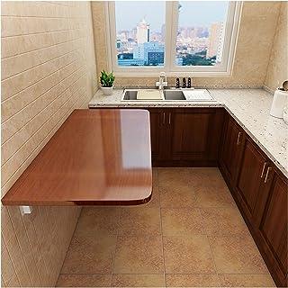 GHHZZQ Petite Table Pliante Fixé Au Mur Heavy Duty Bureau de Table Pliante pour Buanderie/Bar À La Maison/Cuisine Et Salle...