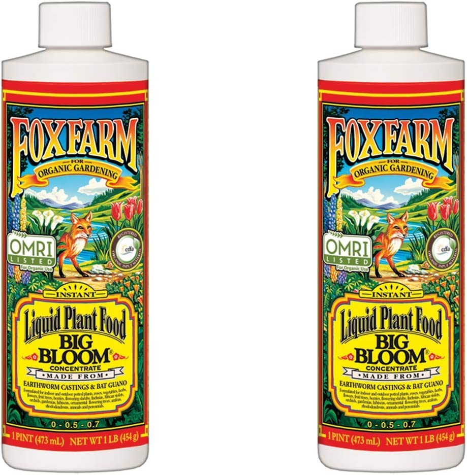 Fox Farm Big Bloom Organic Limited time Department store cheap sale Liquid Concentrate 1 Plant Pint Food