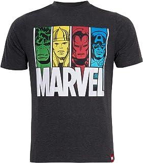 MARVEL Mens Avengers Short Sleeved T-Shirt Super Hero Summer Top Tee Gift Size