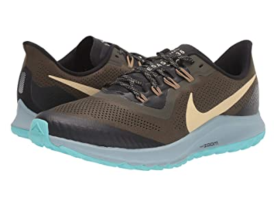 Nike Air Zoom Pegasus 36 Trail (Cargo Khaki/Team Gold/Black/Ocean Cube) Men