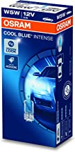 OSRAM 2825HCBI COOL BLUE INTENSE, W5W, blauwachtig wit licht, halogeen signaallamp, kartonnen vouwdoos (10 lampen)