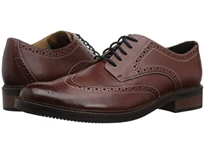 Bostonian Maxton Wing (British Tan Leather) Men