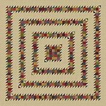 Primitive Gatherings Flower Garden Gatherings Dazed and Confused Quilt Kit Moda Fabrics KIT1240