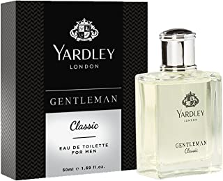 Yardley London Gentleman Classic Eau de Toilette For Men, 50ml