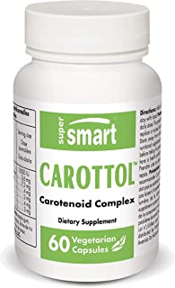 Sponsored Ad - Supersmart - Carottol - New Formula with Vitamin A (Carotenes) 13500 UI - Support Healthy Vision & Bone Dev...