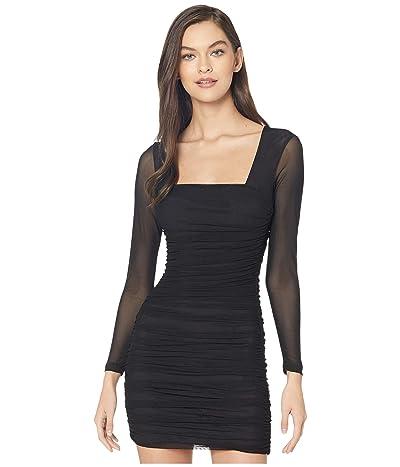 Bardot Tasha Mesh Dress (Black) Women