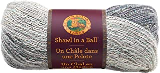 Lion Brand Yarn 828-300 Shawl in a Ball, Om Opal