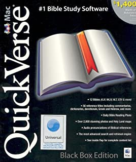 QuickVerse Mac Black 2.0 Box Edition